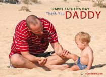 Free eCards - Thank You Daddy,