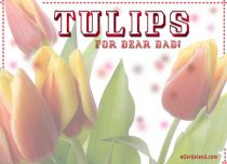 eCards Father's Day Tulips for Dear Dad, Tulips for Dear Dad