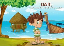 Free eCards, Online cards - You're the Best Dad in the World,