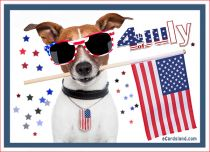 eCards Independence Day 4th July e-Card, 4th July e-Card