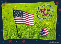 eCards  4th of July,