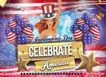 Free eCards Independence Day - Celebrate America,