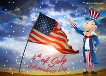 eCards  Independence Day e-Card,