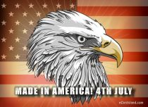 eCards Independence Day Made In America, Made In America