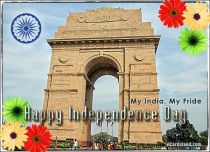Free eCards Independence Day - My India, My Fride,