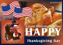 eCards Thanksgiving Day A Joyful Thanksgiving to You, A Joyful Thanksgiving to You