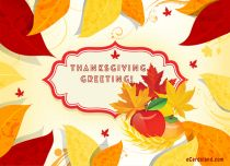 eCards Thanksgiving Day Thanksgiving Greeting, Thanksgiving Greeting