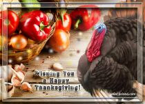 eCards Thanksgiving Day Wishing You a Happy Thanksgiving, Wishing You a Happy Thanksgiving