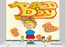 eCards Children's Day Bad Boy, Bad Boy