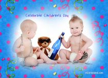 eCards Children's Day Celebrate Children's Day, Celebrate Children's Day