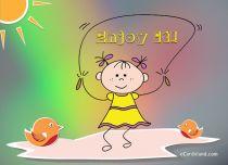 Free eCards, Children's Day cards online - Childhood is So Much Fun,