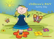 Free eCards Children's Day - Sunny Day,