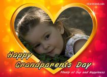 Free eCards, Free Grandparents Day ecards - Plenty of Joy and Happiness,