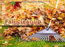 Free eCards Seasons - Fall Cleanup,