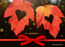 Free eCards Seasons - In Autumn,