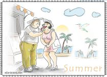 Free eCards Seasons - Summer e-Card,
