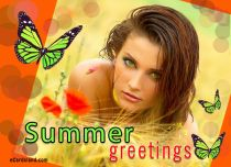 Free eCards Seasons - Summer Greetings,