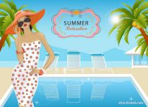 Free eCards Seasons - Summer Relaxation,