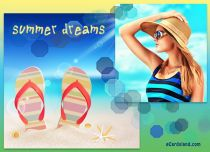 Free eCards Seasons -  Summer dreams,