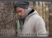 Free eCards Feelings - I'm Sad and Lonely,