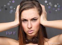 Free eCards Feelings - Stop It,