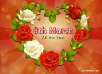 eCards Women's Day All the Best, All the Best