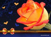 eCards Women's Day Beautiful Rose eCard, Beautiful Rose eCard