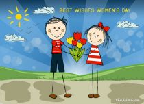 eCards Women's Day Best Wishes Women's Day, Best Wishes Women's Day