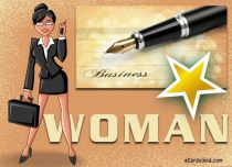 eCards Women's Day Business Woman, Business Woman