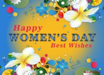 eCards  Flowers To Say Happy Women's Day,