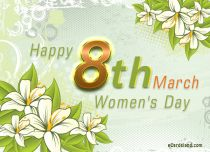 eCards Women's Day Happy 8th March, Happy 8th March