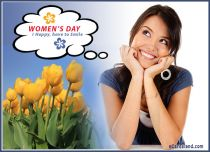 eCards Women's Day I Happy Have to Smile, I Happy Have to Smile