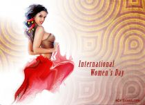eCards Women's Day International Women's Day, International Women's Day