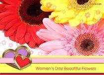 eCards  Women's Day Beautiful Flowers,