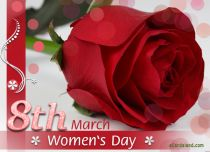 eCards Women's Day 8th March, 8th March