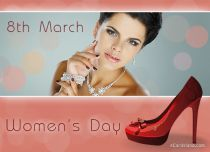 eCards Women's Day 8th March Happy day, 8th March Happy day