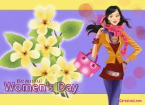 eCards Women's Day Beautiful Women's Day, Beautiful Women's Day