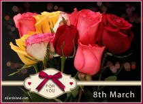 Free eCards, Women's Day cards - Bouquet for You,