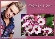 eCards Women's Day Greeting e-Card with Best Wishes, Greeting e-Card with Best Wishes