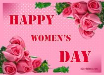 eCards  Happy Women's Day,