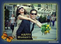 eCards Women's Day Happy Women's Day e-Card, Happy Women's Day e-Card