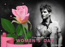 eCards Women's Day I Am Sending You Rose, I Am Sending You Rose