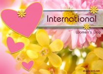 eCards Women's Day International Women's Day, International Women's Day