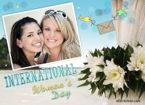 eCards Women's Day International Women's Day e-Card, International Women's Day e-Card