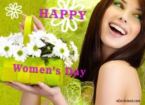eCards Women's Day Joyful Women's Day, Joyful Women's Day