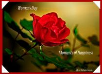 Free eCards, Free Women's Day cards - Moments of Happiness,