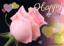 eCards Women's Day Rose e-Card, Rose e-Card
