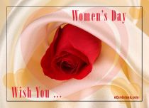 eCards Women's Day Wish You, Wish You