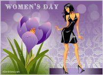 Free eCards, Free Women's Day ecards - Women's Day Card,