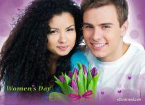 eCards Women's Day Women's Day Tulips, Women's Day Tulips